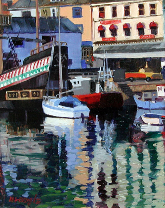 Brixham Harbor study #1