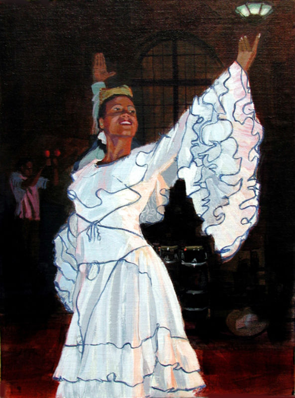 Cuban Dancer #1 (sold)