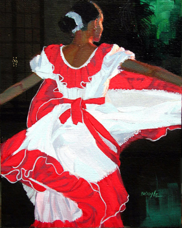 Cuban Dancer #2 (sold)