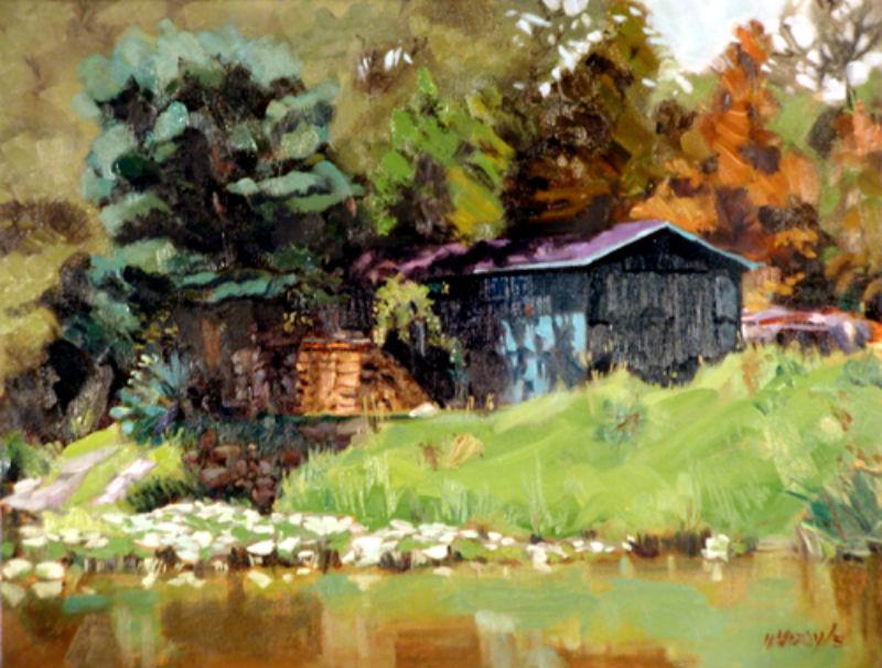Galien River Shed (sold)