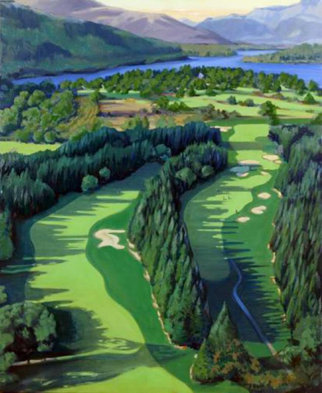 Loch Lomond 4th Hole (sold)