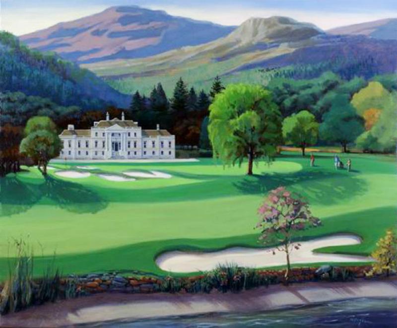 Loch Lomond 8th Hole (sold)