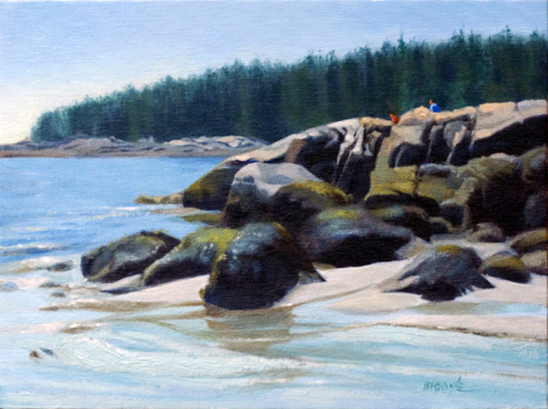 Maine On The Rocks (sold)