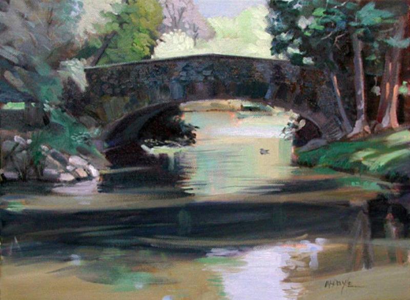 Park Bridge sketch