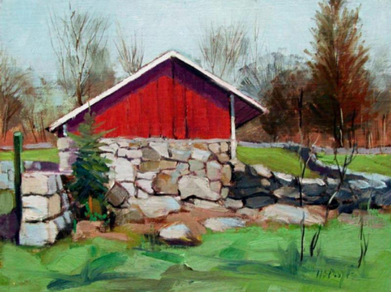 Weir Farm Shed